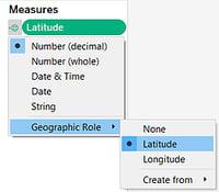 Geocoding Tableau - Change Geo Role