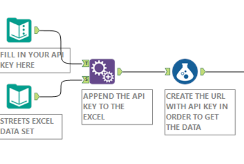 Reaching the Google Geocoding API