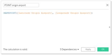 POINT origin airport