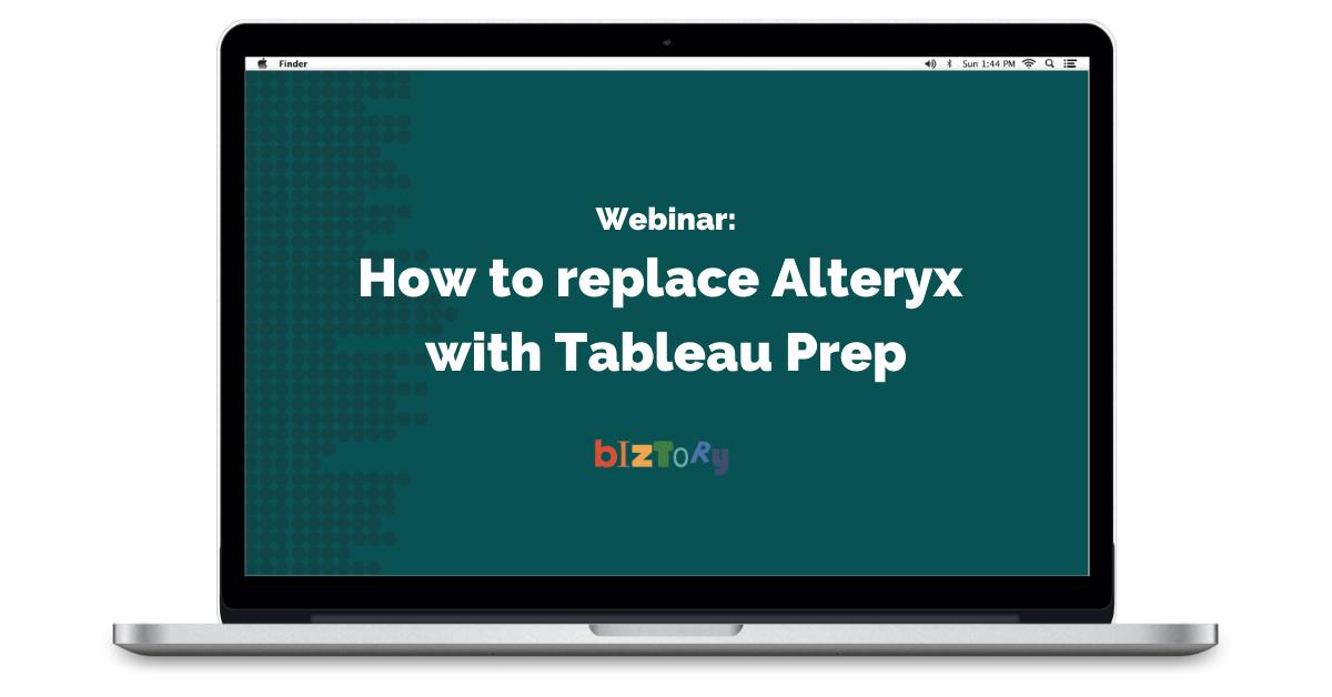 Biztory - Webinar Alteryx vs prep
