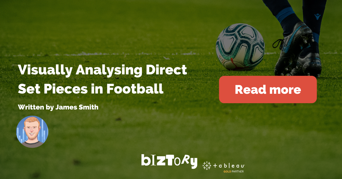 analysing football set pieces in Tableau