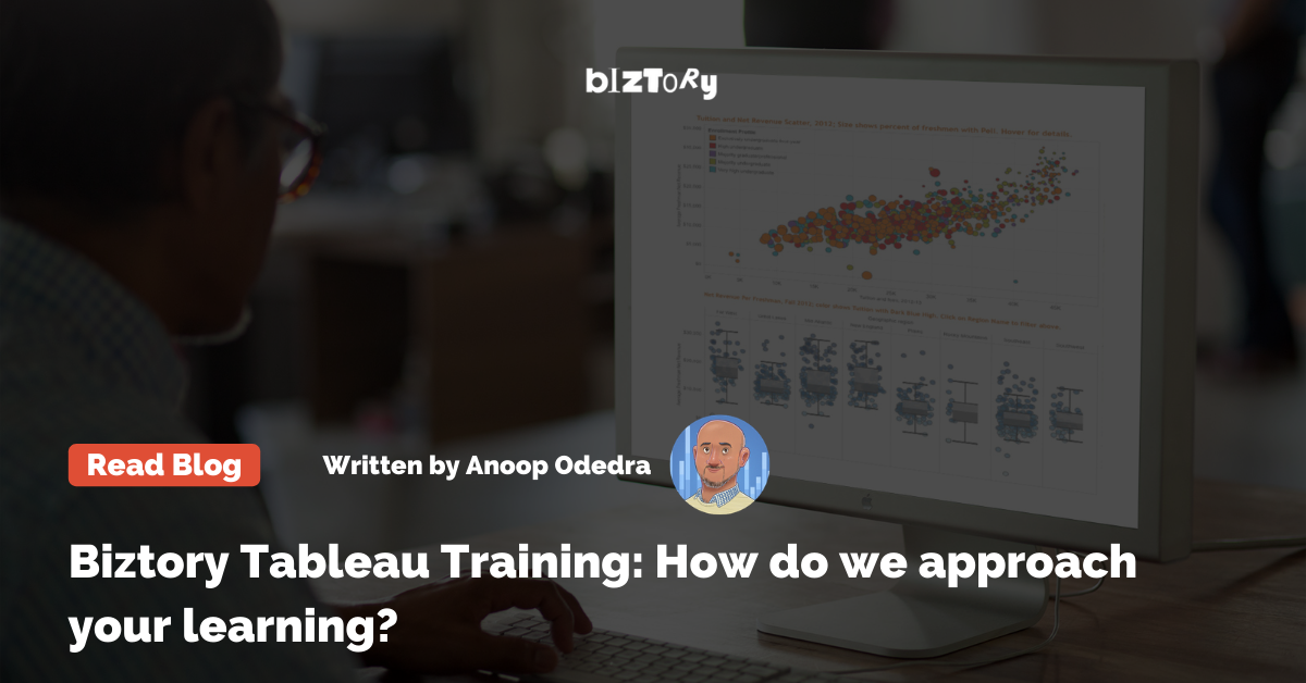 How does Biztory approach training