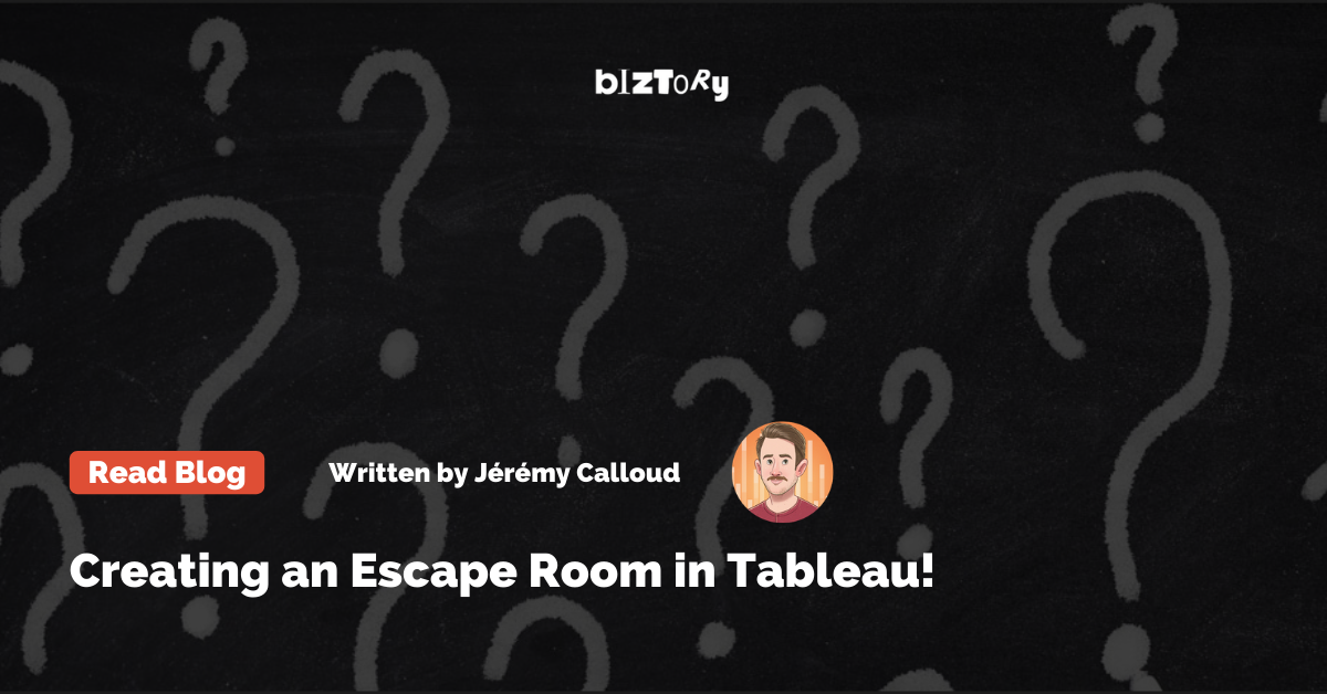 Jeremy Escape Room in Tableau