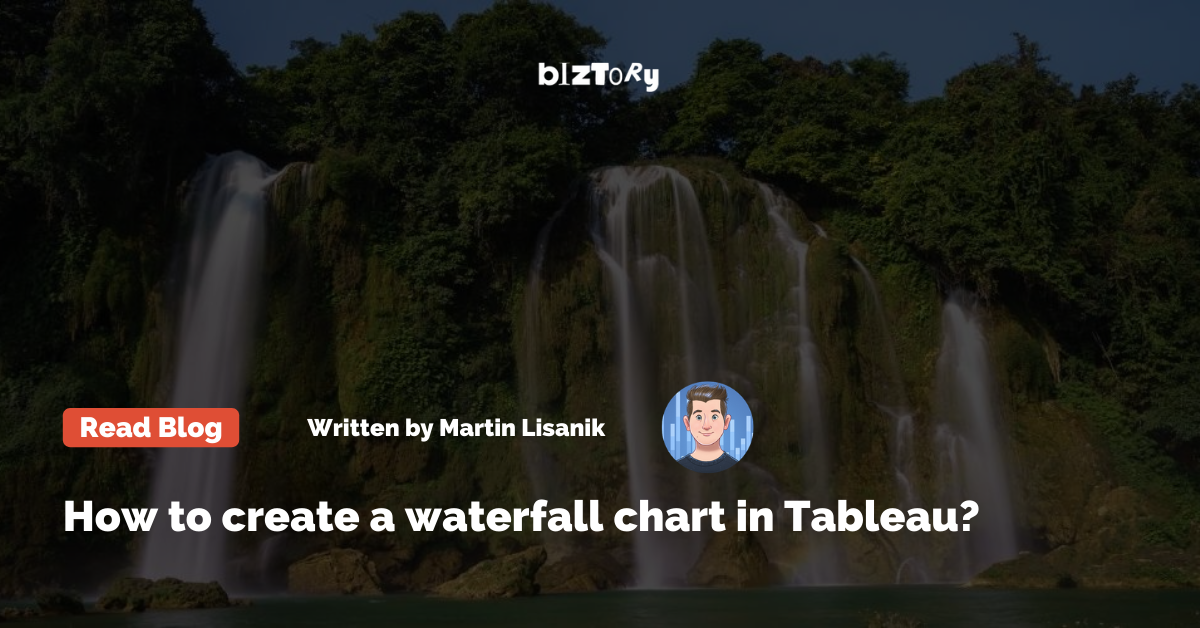 How to create a Waterfall Chart in Tableau