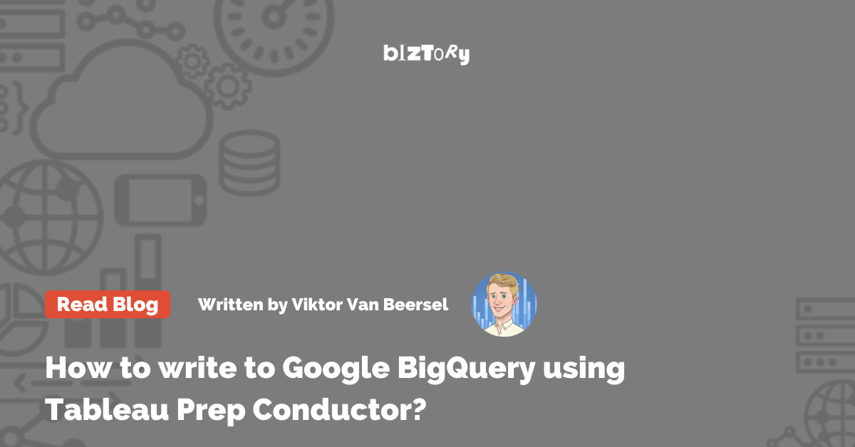 Prep Conductor to Google BigQuery