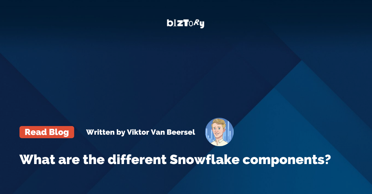 What are the different Snowflake components