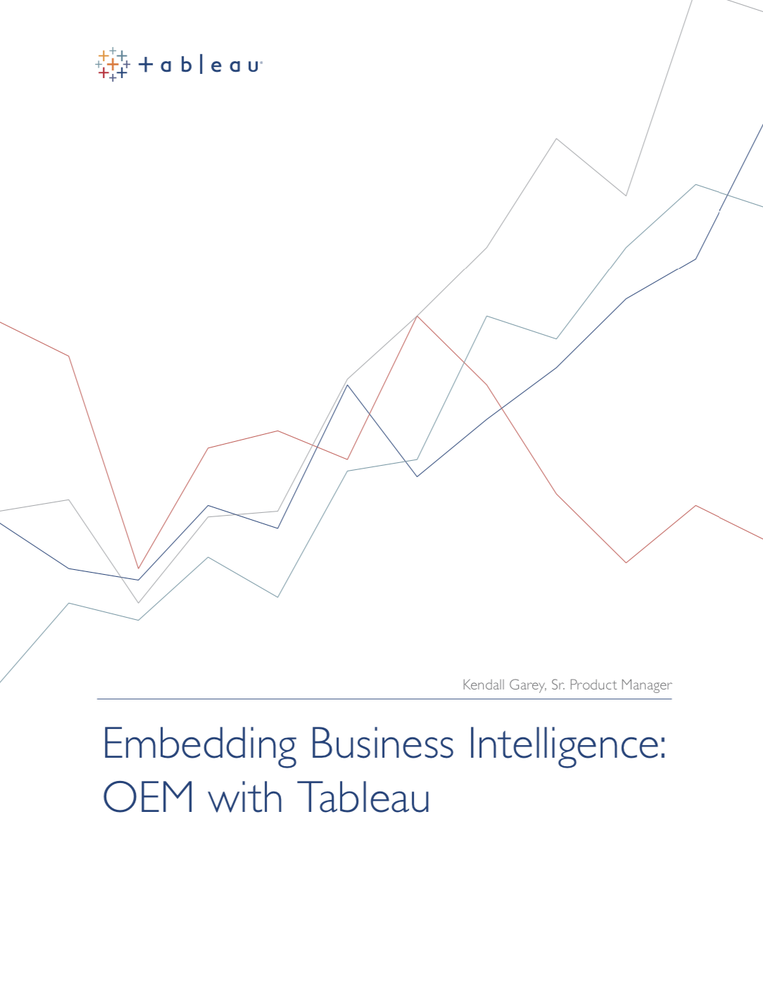 Embedded Analytics with Tableau White Paper