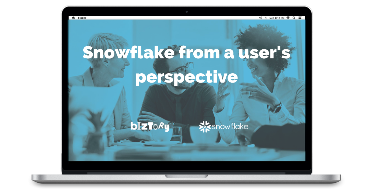 Rewatch _ Snowflake from a users perspective