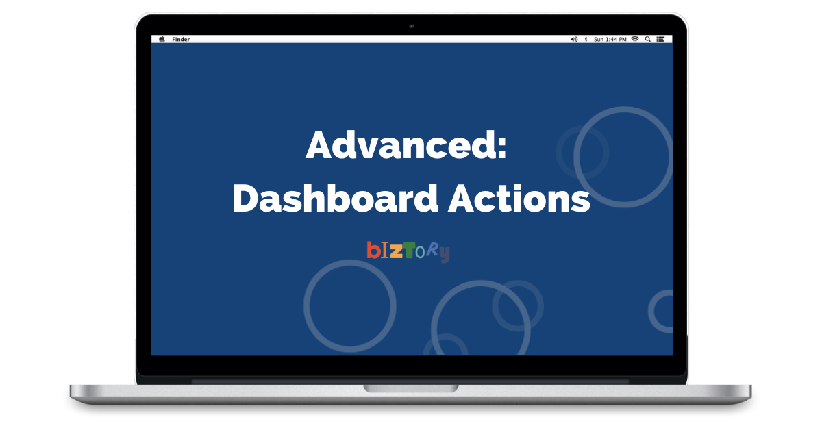 Tableau Dashboard Actions Replay - Biztory