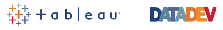 Tableau DataDev logo